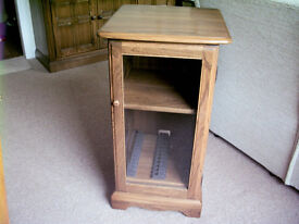 Ercol Cabinet for stereo / cds/dvds