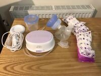 Used Philips AVENT Comfort Single Electric Breast Pump - UK 3pin Plu