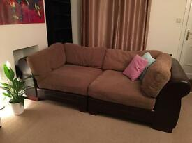 Comfortable sofa FREE collection only