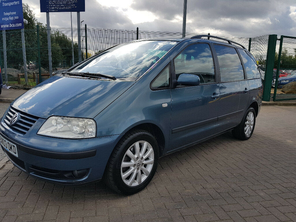 volkswagen sharan 2018. modren sharan volkswagen sharan 19 tdi sport 7 seater diesel 6 speed low miles history  may 2018 mot in volkswagen sharan