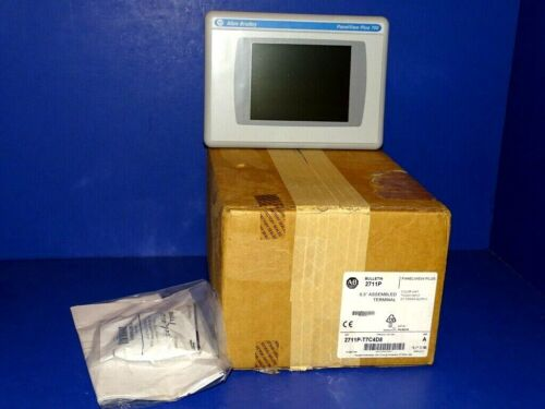 2020 NEW IN BOX 2711P-T7C4D8 /A Allen Bradley PanelView 6.5 Hour Run-Time