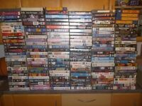 Job lot. Over 150 VHS Video tapes Rare tapes in here.