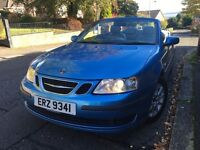 Saab 9-3 Convertible 1.8t Linear, full MOT