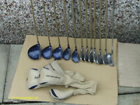 "LADIES ""GOLDEN BEAR"" GRAPHITE RIGHT HAND GOLF CLUBS IN BAG"
