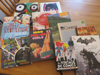 BOOKS - Graphics, Artwork, DC Comic and numerous other topics