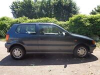 VW Polo 1.4 Auto Rare Open Air model T Reg 3dr