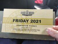 Goodwood Revival Ticket, Friday 17th September