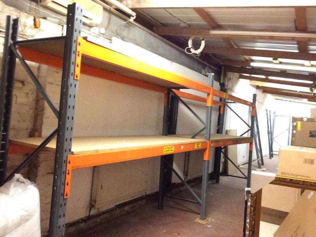 Dexion Speedlock heavy duty racking