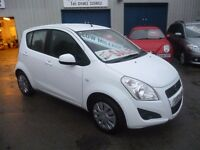 Suzuki SPLASH SZ2,5 dr hatchback,FSH,full MOT,1 owner from new,2 keys,super low mileage only 14,000