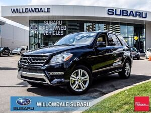 2015 Mercedes-Benz M-Class ML400 4MATIC No Accidents, One Owner,
