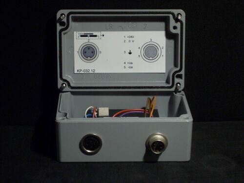 New Bach Messtechnik KP-032.12 Wegtaster LVDT Signal Conditioner Cast Sealed Box