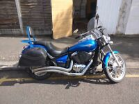 Kawasaki VN900 Custom Cruiser with the perfect noise for bargain price