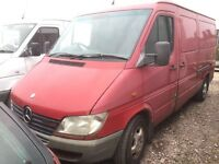 Mercedes sprinter 316cdi 5 cylinder - Parts Available