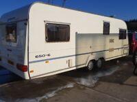 Avondale Argente 650/6 (6/7 berth caravan