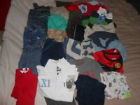 Job Lot Of 40 Boys Clothes 4-5 Years Bundle Of T-shirts Trousers PJs Brands Inc Next H&M