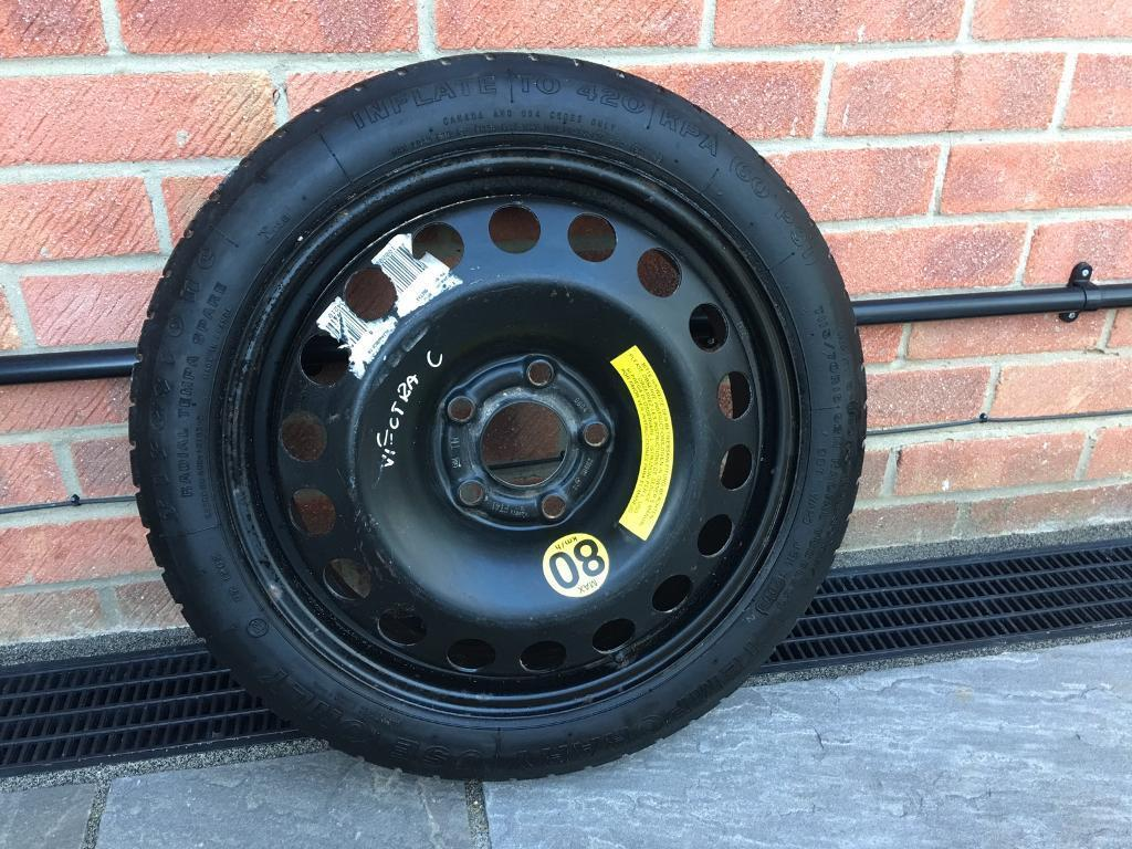Vauxhall 5 stud genuine spare wheel