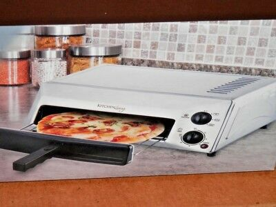 Stainless Steel Counter Top Pizza Oven New In Sealed Box Holds 12 Pizza