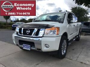 2013 Nissan Titan SL / LEATHER / NAVIGATION