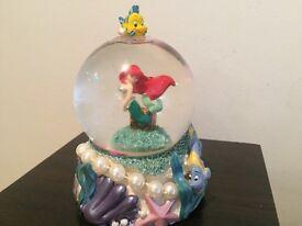 Disney Ariel snow globe