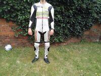Honda Hannspree CBR Race Leather Motorcycle Suit