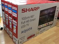 Sharp LC-40CFG3021KF 40 Inch Full HD LED Smart TV with Freeview