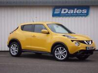 Nissan Juke Acenta Premium Dig-T (yellow) 2014