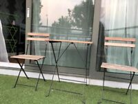 Garden table and 2 Chairs IKEA TARNO
