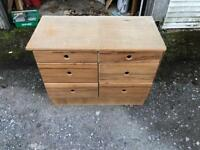 Set of 2 chest of drawers
