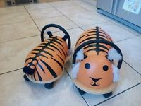 2 Wheely Bug Tiger Little & Large