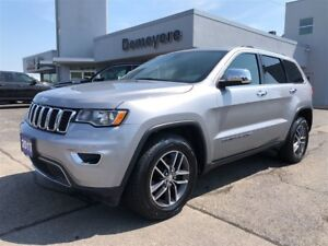 2017 Jeep Grand Cherokee Limited/Leather/Roof/Htd Seats