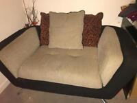 Furniture village city range 2 seater sofa