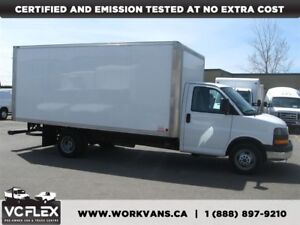2014 Chevrolet Express G4500 16Ft V8 Gas + Ramp