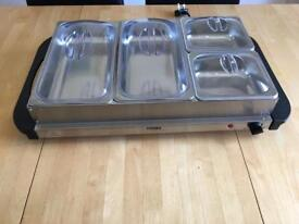 Food warmer bay Marie as new, only used once
