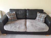 *FREE* John Lewis Two Seater Leather Sofa