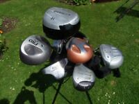 Various golf clubs - Woods - Irons FREE FOR COLLECTION