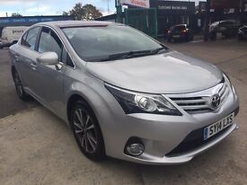 Toyota Avensis 2.2 D-4D Icon 4dr DEALERS WARRANTY UNTIL 2019