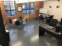 Office Available bills included fully furnished in SE16 5 min walk from station