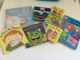 Eight Board Books For Babies & Younger Children.