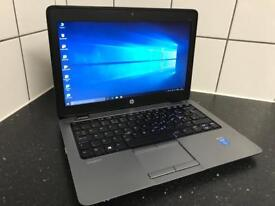 "HP Intel Core i5 13"" 8Gb RAM 256Gb SSD HDD Laptop Windows 10 Pro Microsoft Office 2016 Ultrabook"