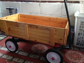 Original American Radio Flyer Red wagon