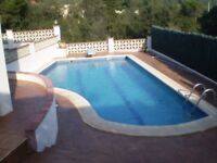 3 Bed Villa with Pool Lloret de Mar, Monthly Payments, No Deposit & No Interest