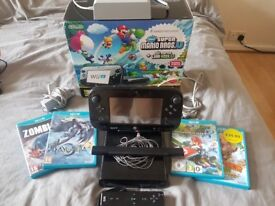 Nintendo Wii U, Boxed with 4 Wii U and Wii mote