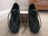 Ladies Ecco Gortex Black Shoes Size 39 (UK 6)