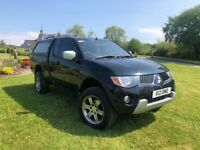 2007 MITSUBISHI L200 4WORK CLUB 2.5 DI-D **LOW MILEAGE** FINANCE AVAILABLE **