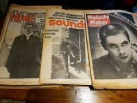 43 x NME SOUNDS MELODY MAKER RECORD MIRROR MUSIC MAGAZINES 1979