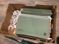 Drop files/suspension files for filing cabinet. Used, FREE.