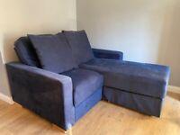 Modular L shape sofa bed