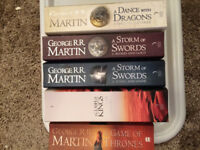 Game of Thrones Books - Average to Good condition - REDUCED