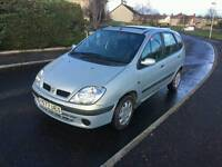 VERY GOOD CONDITION RENAULT SCENIC FULL YEAR MOT FOR QUICK SALE £425