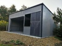 Warehouses for sale Hall 5.65mx6m 18ftx20ft (We can do an individual project)